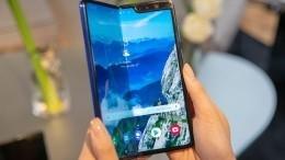 Прорывной игибкий Samsung Fold сломался впервые дни использования— видео