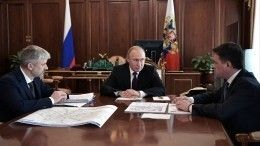 Видео: Путину доложили опланах построительству развязки вподмосковных Химках