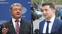 Стали известны ведущие иформат дебатов Зеленского иПорошенко