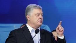 Встудии, где находится Порошенко, есть человек готовый совершить теракт— СМИ