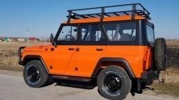 УАЗ выпустил новый оранжевый «Хантер» замиллион рублей