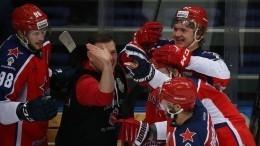 Хоккеисты ЦСКА стали обладателями кубка Гагарина