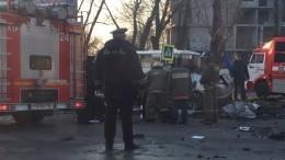 Четверо погибли вДТП савтобусом вВоронеже— фото