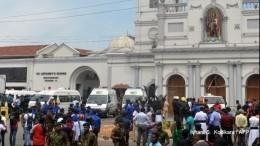 Среди погибших наШри-Ланке есть иностранцы— жуткие кадры (18+)