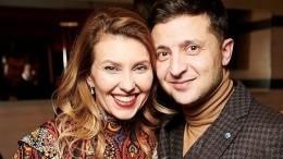 Супругу Зеленского удалили избазы «Миротворца»