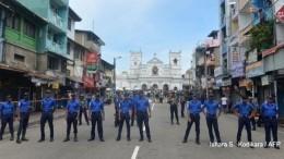Седьмой взрыв прогремел наШри-Ланке