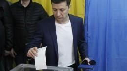 Эминем для настроения: Зеленский проголосовал вКиеве, апосле зачитал рэп