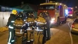 Шесть человек, втом числе трое детей, погибли впожаре вчастном доме вКазани