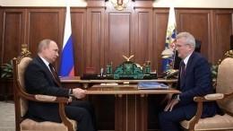 Путин обещал рассмотреть вопрос овключении Пензенской области внацпроект «Здравоохранение»