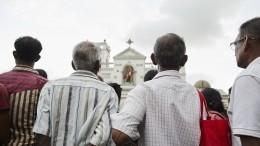 Видео: Спецслужбы Индии иСША предупреждали Шри-Ланку овозможных терактах