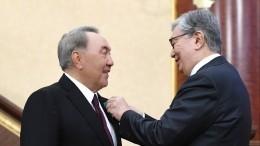 Назарбаев предложил выдвинуть Токаева навыборы президента Казахстана