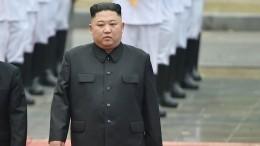 Видео: Автомобиль Ким Чен Ына прибыл воВладивосток