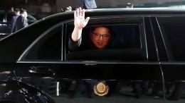 «Рад оказаться нароссийской земле»: Ким Чен Ынопервом визите вРФ— видео