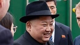 Все-таки съел! Школьницы изХасана накормили Ким Чен Ына караваем