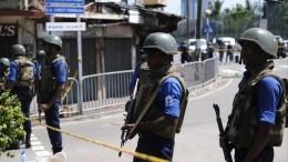 Видео: Взрыв прогремел перед кинотеатром наШри-Ланке
