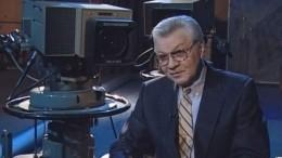 ВПетербурге прошли похороны диктора Ленинградского телевидения Михаила Быкова