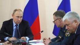 Путин поручил вкратчайшие сроки выплатить компенсации пострадавшим отпожаров