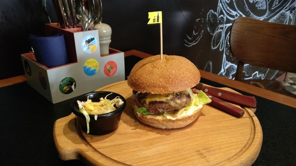 Бургер «4 сыра»