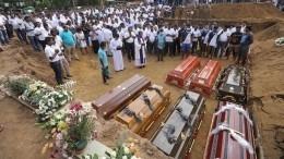 Власти Шри-Ланки уточнили число погибших врезультате терактов