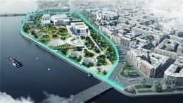 Глава Петербурга: Новая арт-зона вдоль Невы соединит Биржевой иТучков мосты