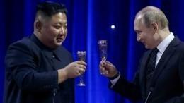 Владимир Путин принял приглашение Ким Чен Ына посетить Северную Корею