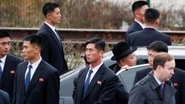 Видео: «бегущих охранников» Ким Чен Ына заметили вЯкутии