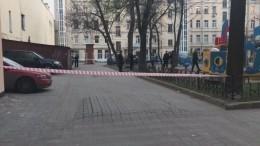 Видео: Мужчина устроил стрельбу надетской площадке вПетербурге