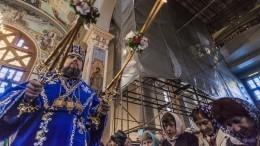 Священникам ПЦУ неразрешили участвовать впасхальной службе вИерусалиме