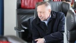Беглов проверил организацию проезда для льготников вэлектричках Петербурга—фото
