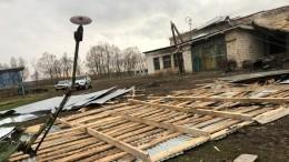 Фото: Ураган вБашкирии повредил крыши 20 зданий