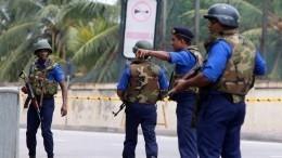 Видео: Навостоке Шри-Ланки отменили комендантский час