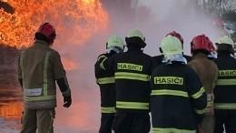 Вцентре Братиславы загорелась гостиница Park Inn