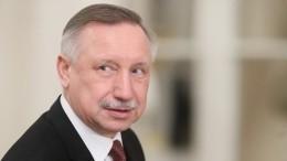 Глава Петербурга поздравил пожарных впреддверии 370-летия создания службы