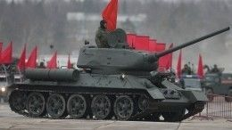 Видео: ВМоскве репетируют Парад Победы. Город стоит впробках