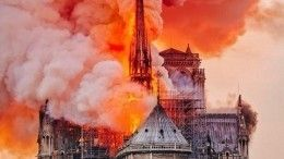 Из-за пожара вНотр-Даме парижане рискуют отравиться свинцом