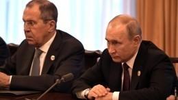 Путин обсудил вСовбезе ситуацию вВенесуэле иКНДР