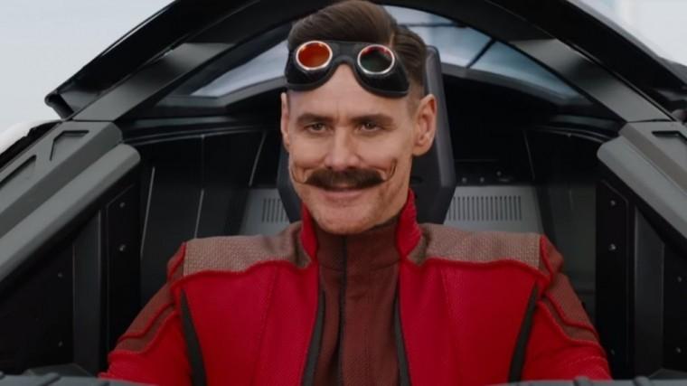 Джим Керри сыграл главного злодея вфильме оежике Сонике