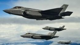 Видео: американские F-35 совершили первый боевой вылет