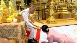Тайский король объявил оженитьбе нагенерале накануне коронации