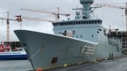 Группа кораблей НАТО вошла вБалтийское море