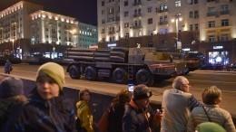 Видео: Центр Москвы перекроют из-за генеральной репетиции Парада Победы