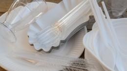 Минприроды готовит запрет наодноразовую пластиковую посуду вРоссии