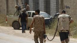 Пилот сбитого ЛНА под Триполи истребителя захвачен вплен
