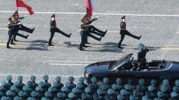 Западные СМИ делятся впечатлениями отПарада Победы вМоскве