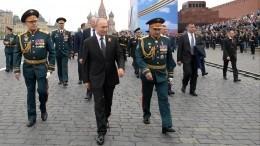 Владимир Путин объяснил отмену воздушного парада