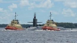 США запустили баллистическую ракету сборта подводной лодки— видео