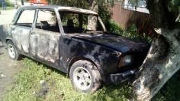Младенец сгорел вавтомобиле наюге России— фото