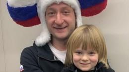 «Как упапы»: шестилетний сын Плющенко хочет набить наруке тату