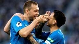 «Зенит» одержал победу над ЦСКА надомашнем стадионе врамках Чемпионата России