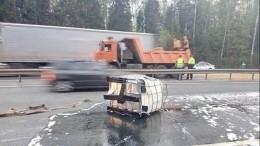 Емкости смыльным веществом стали причиной смертельного ДТП воВладимирской области
